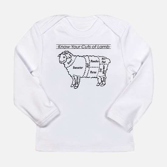 Know Your Cuts of Lamb Long Sleeve Infant T-Shirt