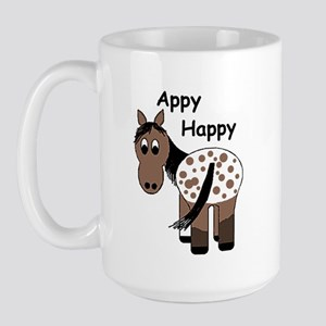 Appy Happy, Large Mug