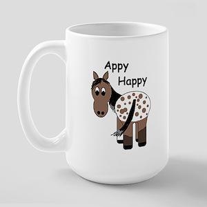Appy Happy, Large Mug