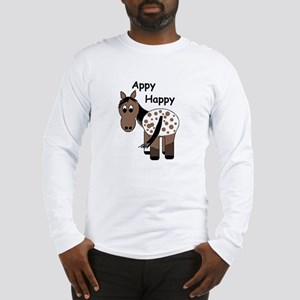 Appy Happy, Long Sleeve T-Shirt