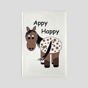 Appy Happy, Rectangle Magnet