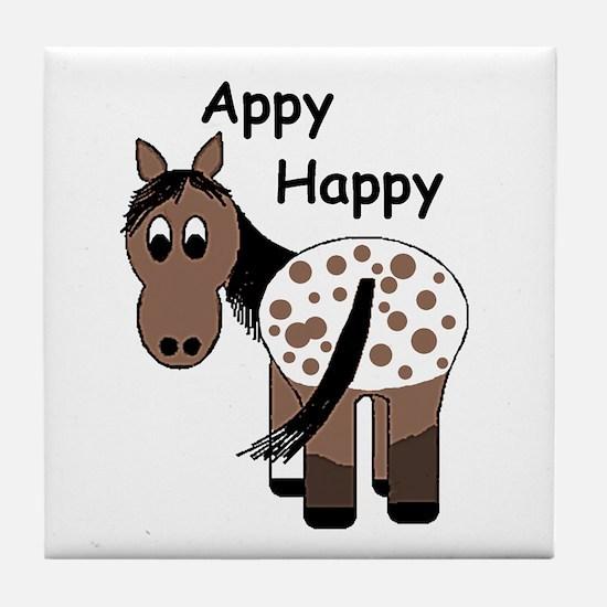 Appy Happy, Tile Coaster