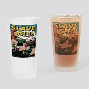 Slave Girl Comics Classic Covers #1 Drinking Glass