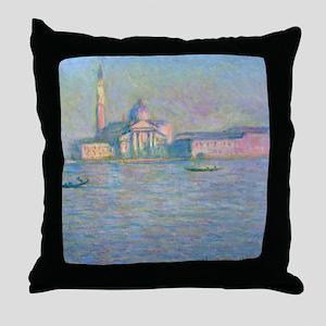 Monet - San Giorgio Throw Pillow