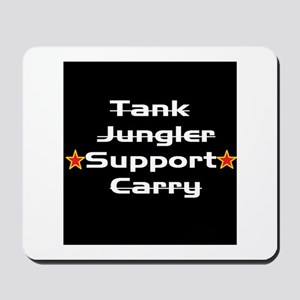 League Support Player Mousepad