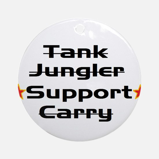 Leage Support Player Pride Ornament (Round)