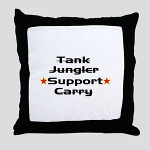 Leage Support Player Pride Throw Pillow