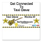 Get Connected to TD Square Car Magnet 3