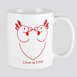 Happy Gay Chickens Mug
