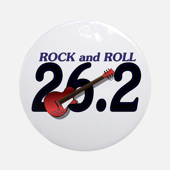 Rock and Roll MArathon Ornament (Round)