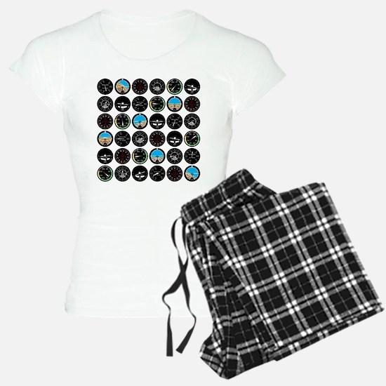 Flight Instruments Pajamas