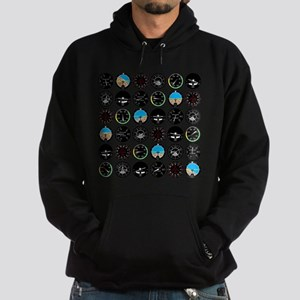 Flight Instruments Hoodie (dark)
