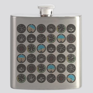 Flight Instruments Flask