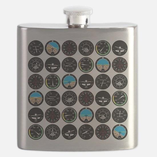 Flight Instruments Flask