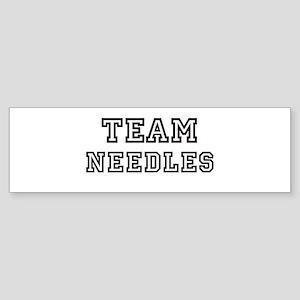 Team Needles Bumper Sticker