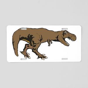 Tyrannosaurus rex 3 Aluminum License Plate