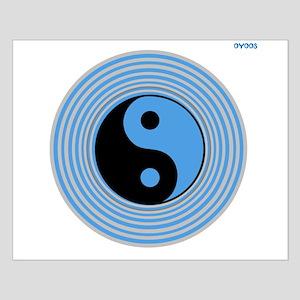 OYOOS Yingyang design Small Poster