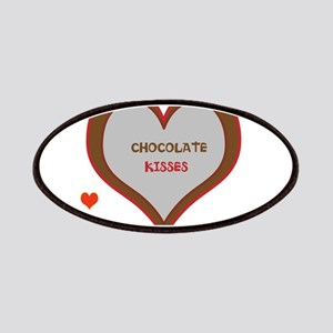 OYOOS Chocolate Heart design Patches