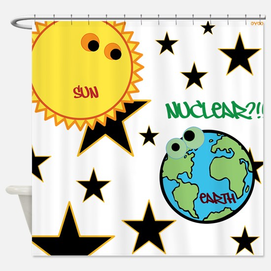 OYOOS Fun Science design Shower Curtain
