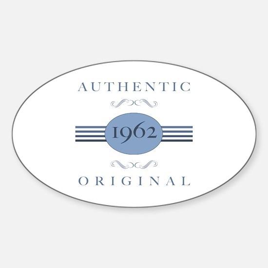 Authentic Original 1962 Sticker (Oval)