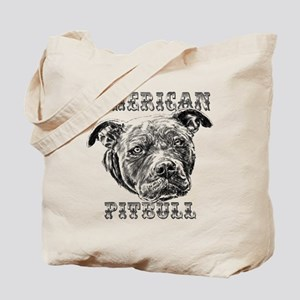 American Pitbull Tote Bag