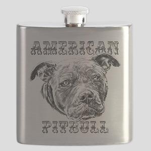 American Pitbull Flask