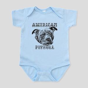 American Pitbull Infant Bodysuit