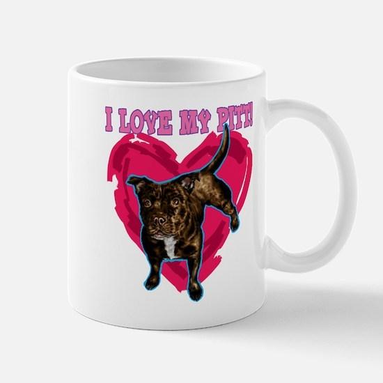 love my pitt Mug
