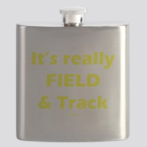 Its Really FIELD and Track Blk_Yellow Flask