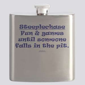 Steeplechase Fun and Games Flask