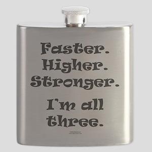 Faster higher stronger all Flask