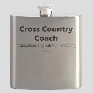 Latin Cross Country Coach Flask