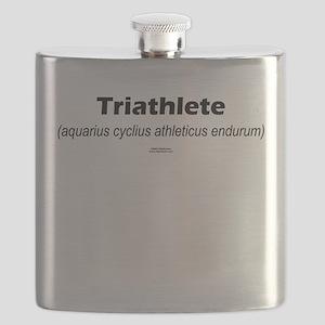 Latin Triathlete Flask
