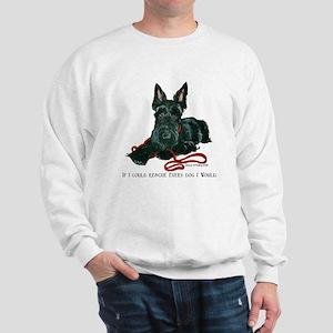 Scottish Terrier Rescue Me Sweatshirt