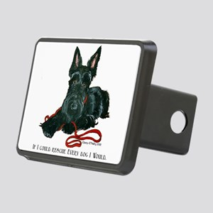 Scottish Terrier Rescue Me Rectangular Hitch Cover