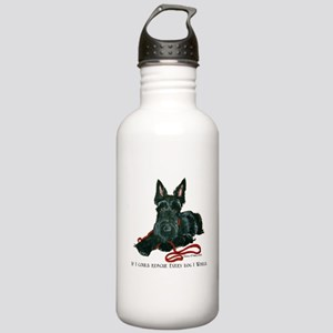 Scottish Terrier Rescue Me Stainless Water Bottle