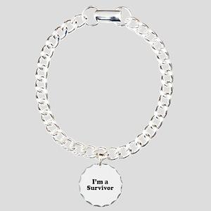 Im a Survivor: Charm Bracelet, One Charm