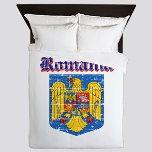 Romania Coat of arms Queen Duvet
