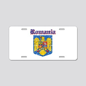 Romania Coat of arms Aluminum License Plate