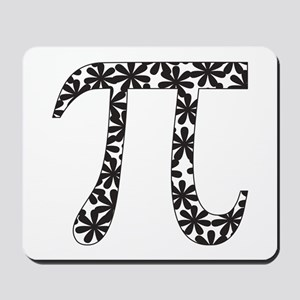 Floral Pi Mousepad