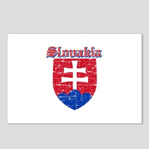 Slovakia Coat of arms Postcards (Package of 8)
