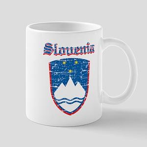 Slovenia Coat of arms Mug