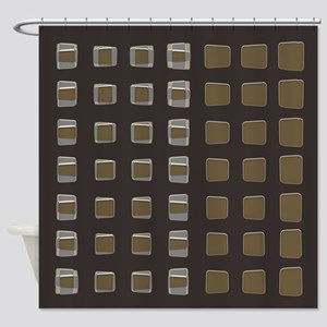 Mocha Latte Shower Curtain
