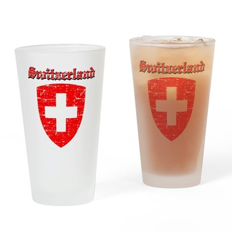 Switzerland Coat of arms Drinking Glass