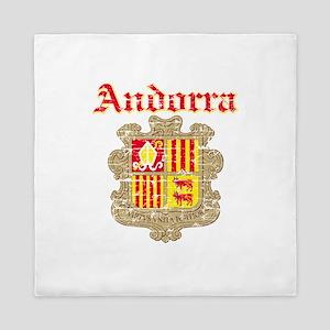Andorra Coat of arms Queen Duvet