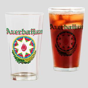 Azerbaijan Coat of arms Drinking Glass