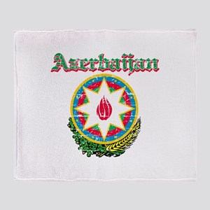 Azerbaijan Coat of arms Throw Blanket