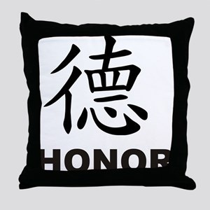 Honor (de) Throw Pillow