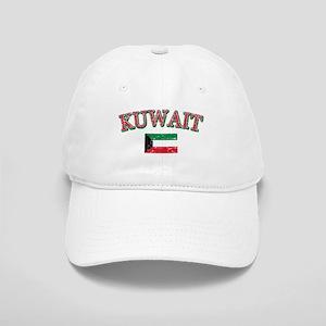 Kuwait Flag Designs Cap