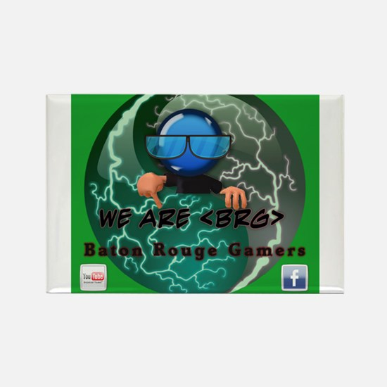 BRG LOGO Rectangle Magnet